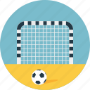 football field, football net, football practice, outdoor game, soccer icon