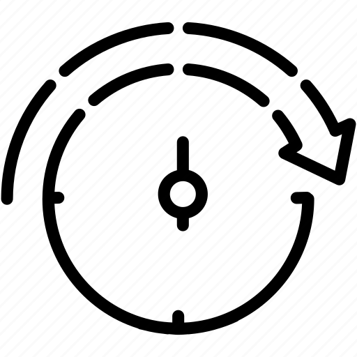 backup clock counter minute stopwatch icon