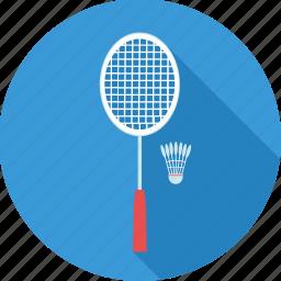 badminton, game, shettle, shuttle, shuttlecock, sport, sports icon