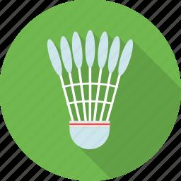 badminton, olympics, shuttle, shuttlecock, sports icon