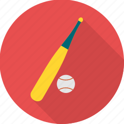 ball, baseball, bat, cricket, game, play, sports icon