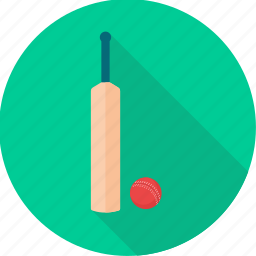 accessories, ball, bat, cricket, equipment, game, sport icon