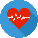 heart, heart care, heartbeat, lifeline, pulsation, pulse, rate icon