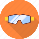 eye, glass, glasses, sports, underwater icon