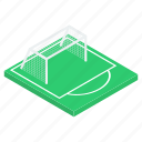 football field, football ground, football pitch, football stadium, soccer field icon