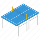 outdoor game, physical activity, ping pong, sports racket, table tennis icon