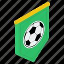 game banner, soccer banner, soccer flag, soccer league, sports banner icon