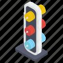 racing light, signal lights, traffic lamps, traffic lights, traffic semaphore, traffic signals icon