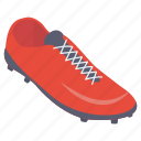 football cleat, football shoe, soccer boot, soccer cleat, soccer shoe icon