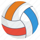 ball, football, sports accessory, sports equipment, volleyball icon