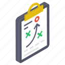 game planning, game strategy, game tactics, sports strategy, strategic planning icon