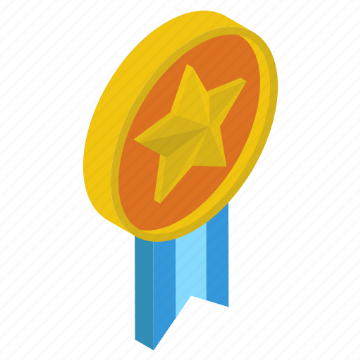 Award, champion, medal, military medal, prize, star badge, winner icon - Download on Iconfinder