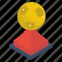 achievement, award, football trophy, reward, star trophy, victory icon