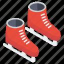 ice blading, ice skates, inline skates, skate shoes, skating boot icon
