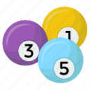 billiard, billiard balls, cue sports, pool game, snooker balls icon