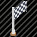 emblem, flag, fluttering flag, race flag, sports flag icon