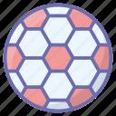 ball, football, soccer, sports accessory, sports equipment icon