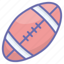ball, football, rugby, soccer, sports accessory, sports equipment icon