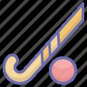 ball, hockey, hockey ball, sports equipment, sports tool icon
