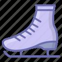 footgear, footwear, roller skates, skates, sports accessory, sports equipment icon