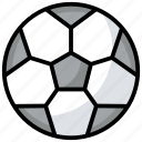 ball, field ball, football, goal ball, playbill, sport, sports equipment icon