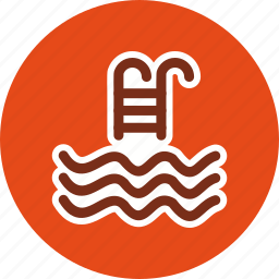 pool, sports, swimming, water icon