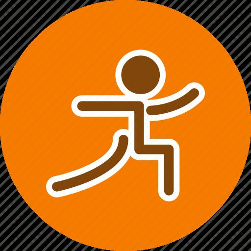 exercise, posture, workout, yoga icon