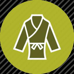 judo, karate, taekwondo, wear icon
