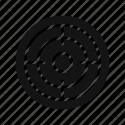achivement, dart, dartboard, goal, sucess, target icon