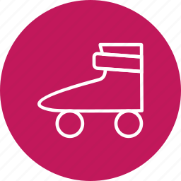 ice roller, roller skate, shoes, skating icon