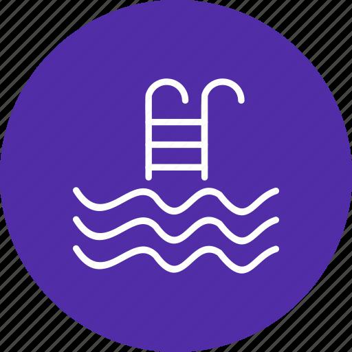 pool, sports, swimming icon
