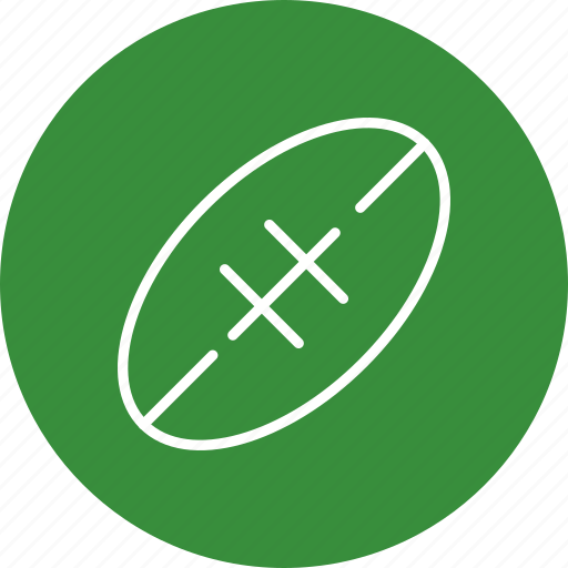 american football, ball, rugby, rugby ball icon