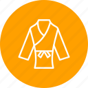 judo, karate, taekwondo, wear icon