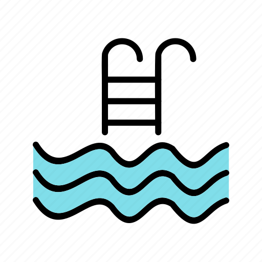 fitness, pool, sport, swimming, swimming pool, training, water icon