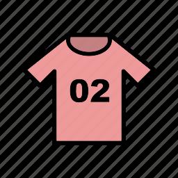 cloth, jersey, kit, shirt, soccer, sport, uniform icon