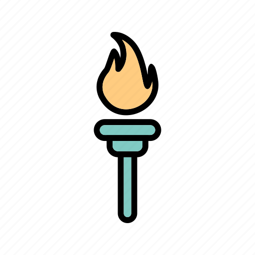 Games, olympic, olympic torch icon - Download on Iconfinder