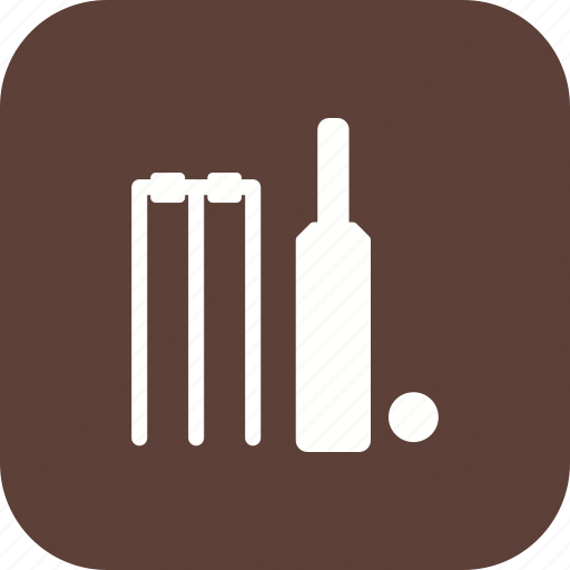 ball, cricket, sport, stumps icon