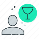cellar, drink, hobby, tasting, wine icon