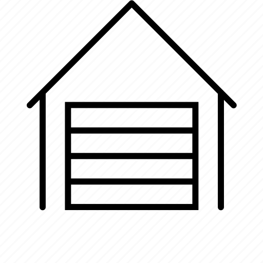 depot, house, warehouse icon