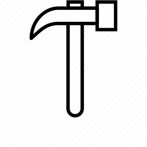 hammer, workshop icon