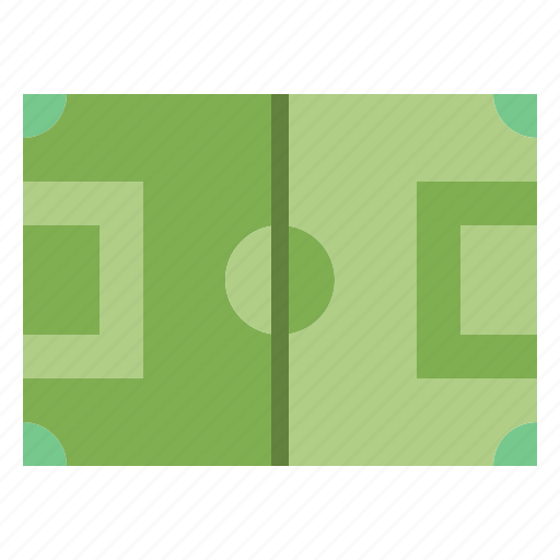 field, football, game, pitch, soccer icon