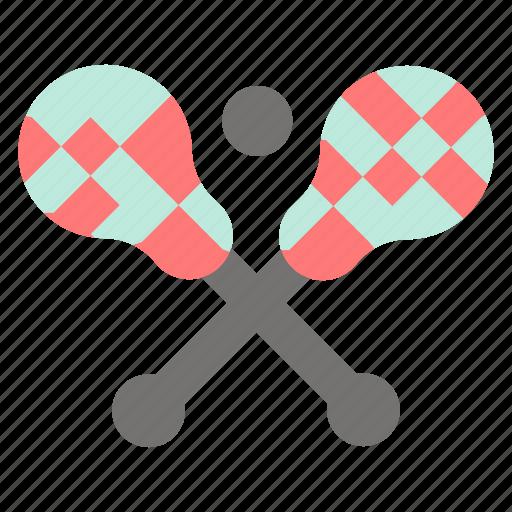 crosse, lacrosse, stick, sticks icon
