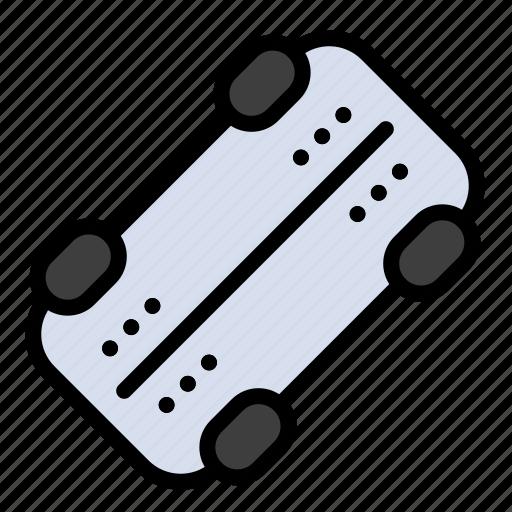 Skate, skateboard, sport icon - Download on Iconfinder