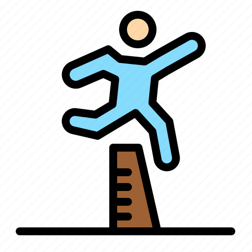 athlete, jumping, runner, running, steeplechase icon