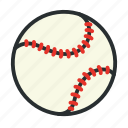 ball, baseball, competition, game, match, play, sport icon