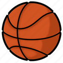 ball, basket, basketball, game, hoops, sport icon