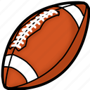 ball, foot, football, game, rugby, sport, us icon