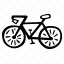 bike, fitness, gym, sports, training icon
