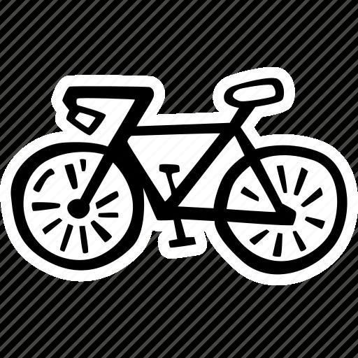 bike, fitness, gym, sports, training icon