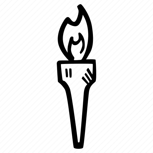 fitness, flame, gym, olympics, sports, training icon